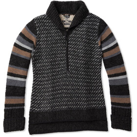 Smartwool CHUP Potlach Sweater halve rits Dames, charcoal heather
